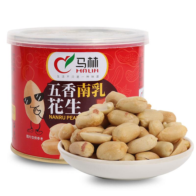 五香南乳花生罐装